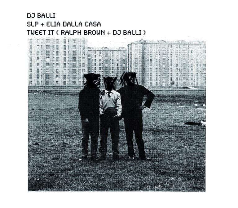 """DJ Balli / SLP & Elia Dalla Casa / Dj Balli & Ralph Brown, """"LIVE AT NUB"""" (SR076, 2012)"""