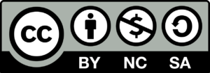 Creative Commons CC BY-NC-SA Logo